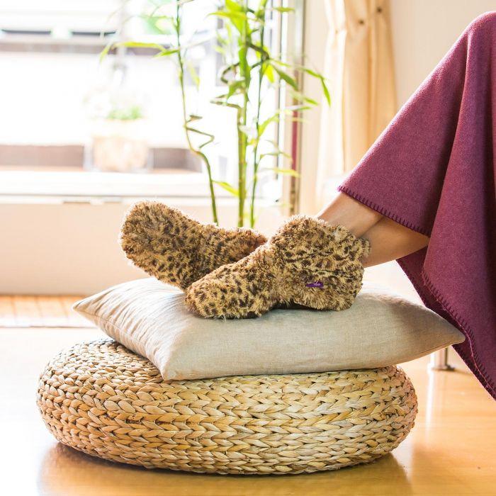 Cadeau de noel : les pantoufles chauffantes