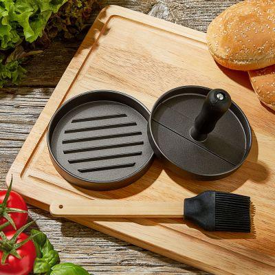 Presse à burger pour BBQ avec accessoire