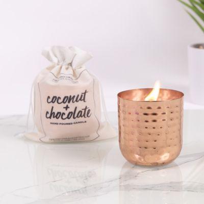 Bougie Parfumée Noix de Coco et Chocolat