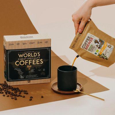 Coffret cadeau Les meilleurs cafés du monde