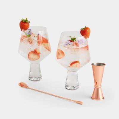 Coffret cadeau verres à gin