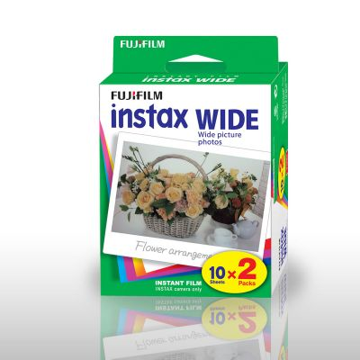 Papier Photo Fuji Instax WIDE - Set de 2