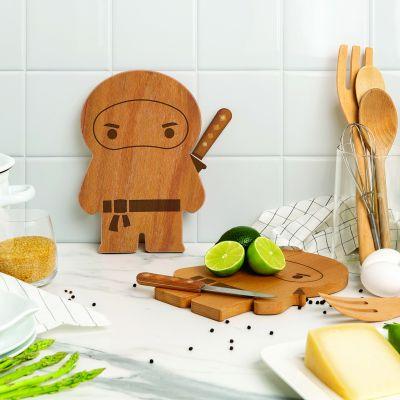 Planche à découper Ninja avec couteau