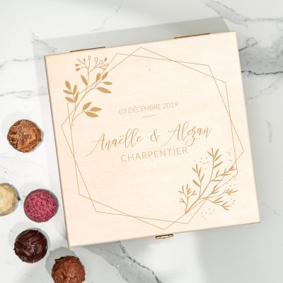 Boîte de Chocolats pour Couples