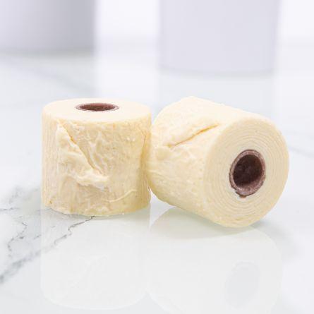 Papier toilette en chocolat 2 mini rouleaux