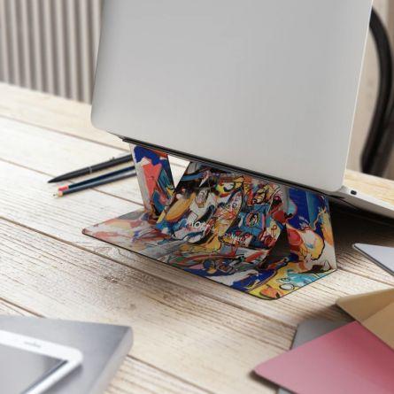Support pour ordinateur portable quasi invisible Moft