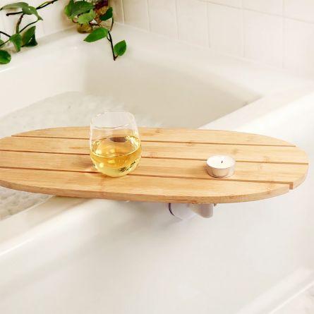 Plateau pivotant pour la baignoire