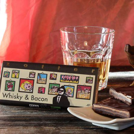 Chocolat Zotter Whisky & Bacon