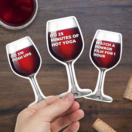 100 séances d'entraînement pour un verre de vin