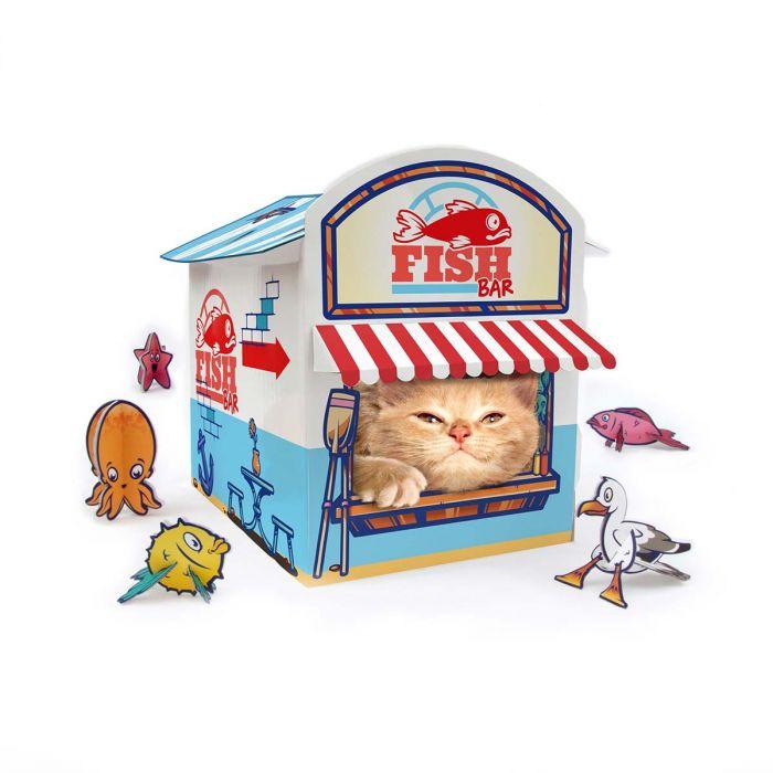 Carton pour chat Kiosque