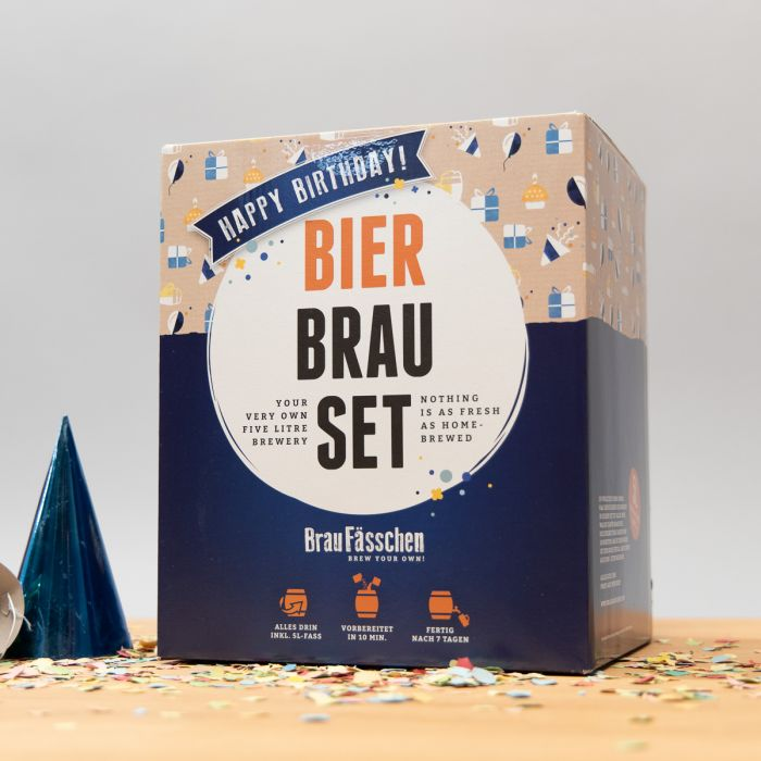 Kit de brassage de bière Edition d'Anniversaire