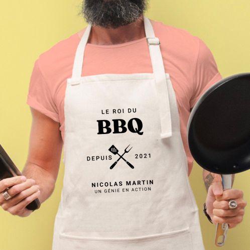 Tablier de cuisine Le Roi du BBQ