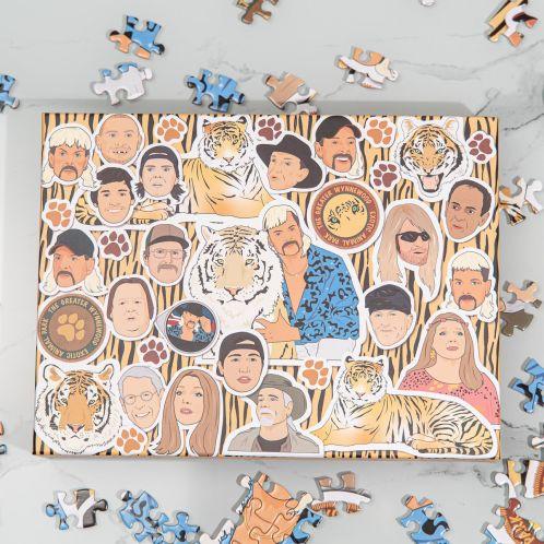 Puzzle Au Royaume des Fauves 500 pièces