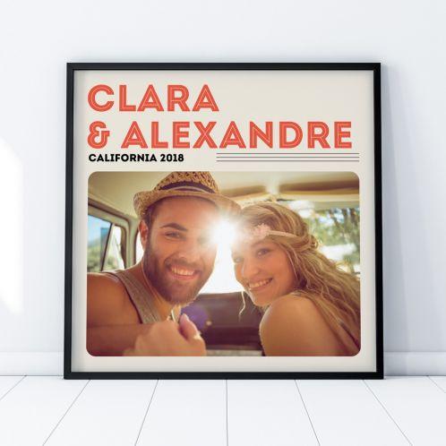 Poster Couverture Vinyle