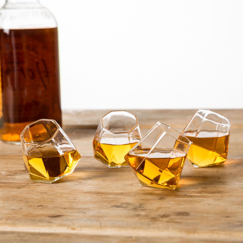 Verres à shot Diamant - Set de 4 verres