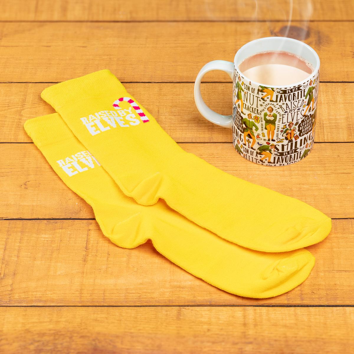 Tasse et chaussettes Elfe