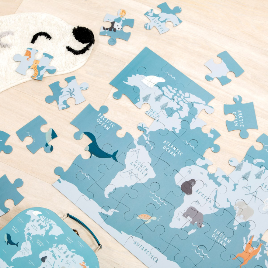 Puzzle pour enfants Espèces menacées