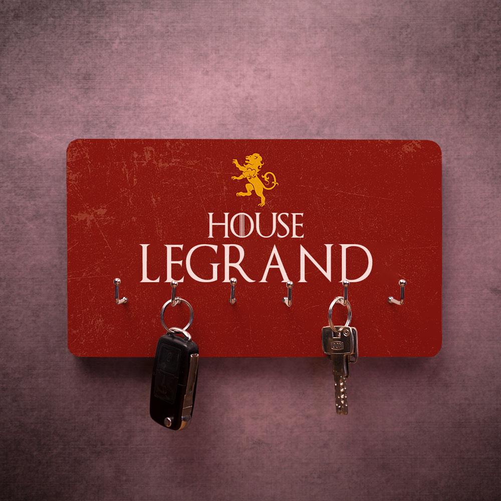 Porte-clés Mural personnalisable avec armoiries