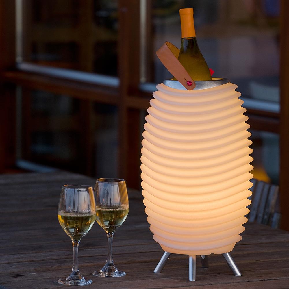 Lampe LED & Enceinte Bluetooth Kooduu