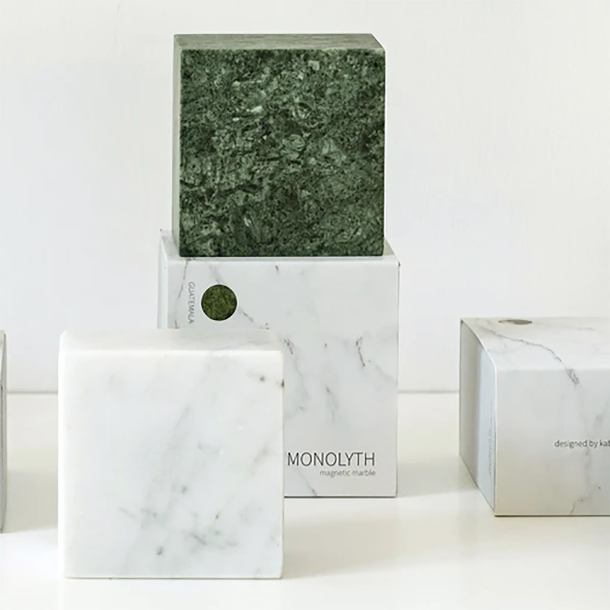 Bloc de Marbre Magnétique Monolyth