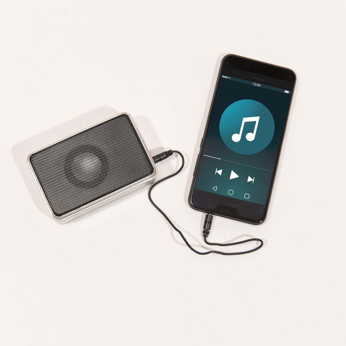 Mini Enceinte The Pocket Tin Speaker
