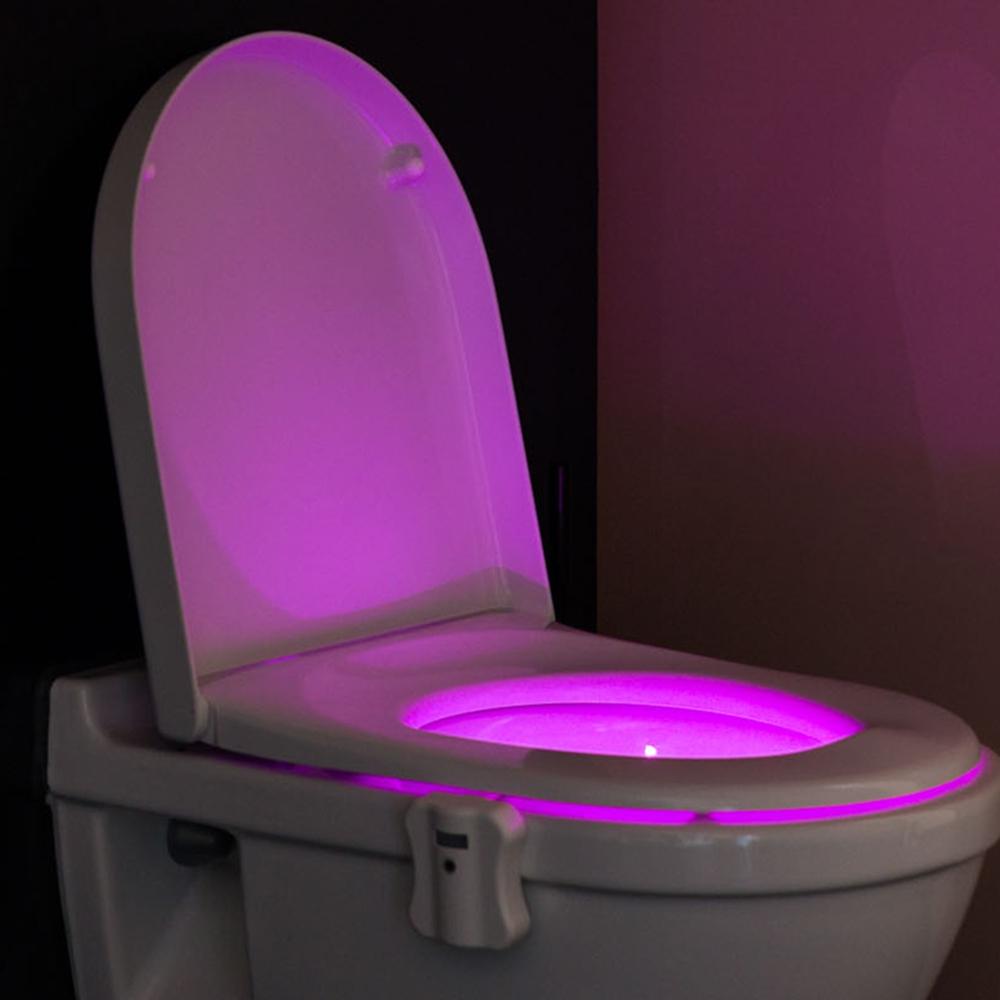 Éclairage de Toilettes - Capteur de mouvement