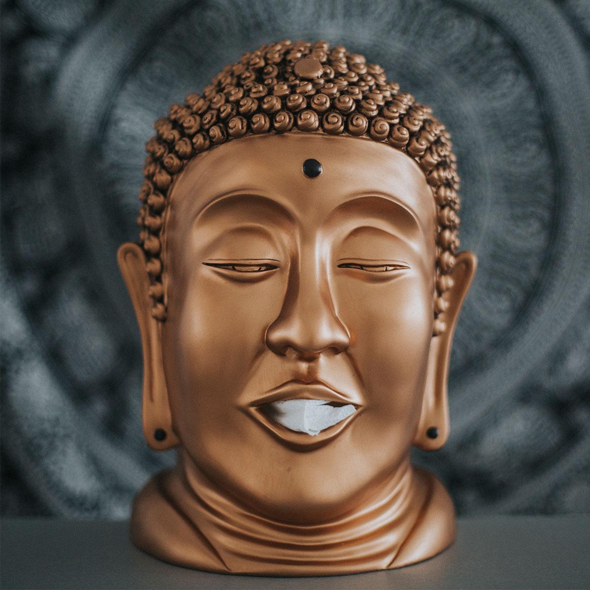 Distributeur de mouchoirs Bouddha