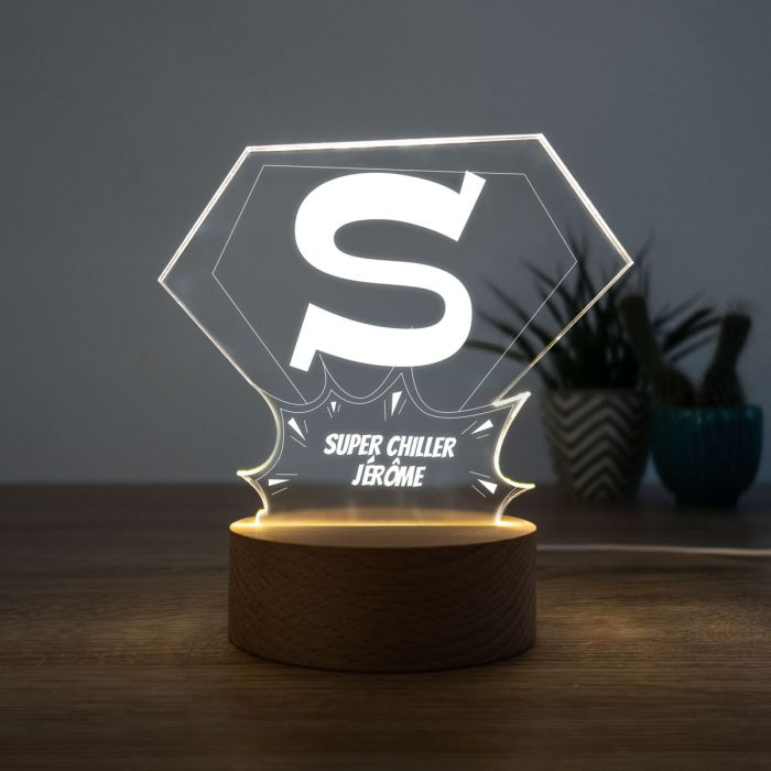Lampe LED Superman
