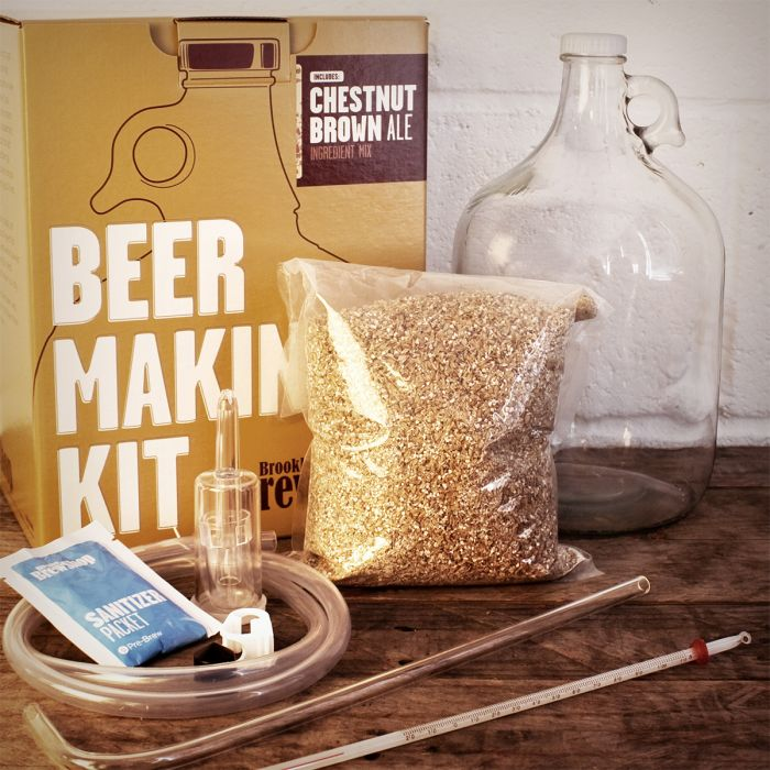 Kit pour brasser sa propre bière BROOKLYN BREW BOUTIQUE Chestnut Brown Ale