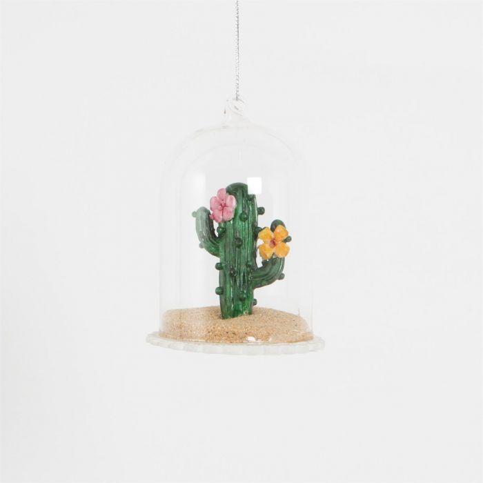 Boule de Noël Cactus