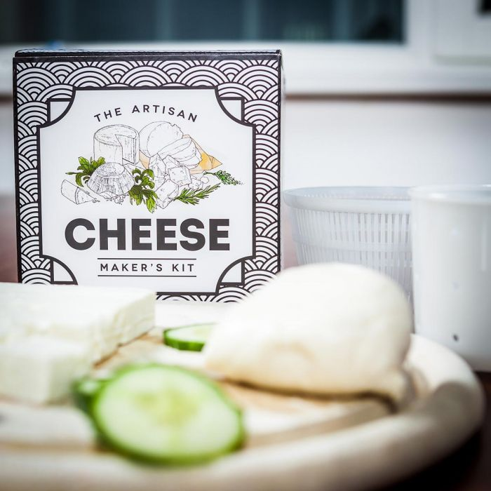 The Artisan Cheese Maker's Kit - le kit de fromager