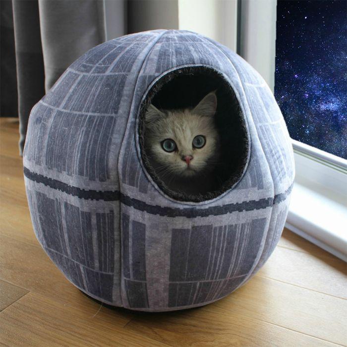 Grotte pour chat Star Wars - Étoile de la Mort