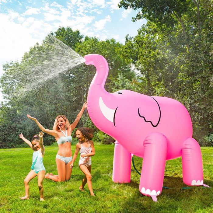Arroseur géant Éléphant rose