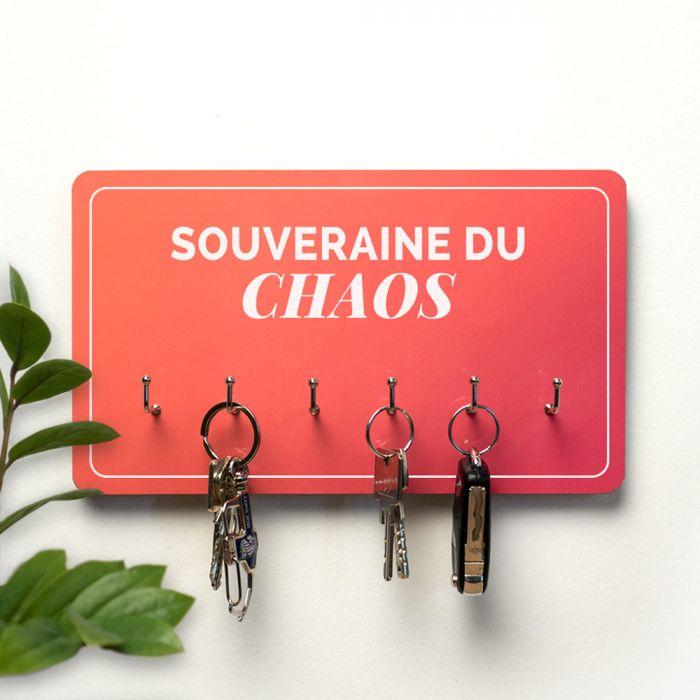 Porte-clés Personnalisable sur 2 Lignes