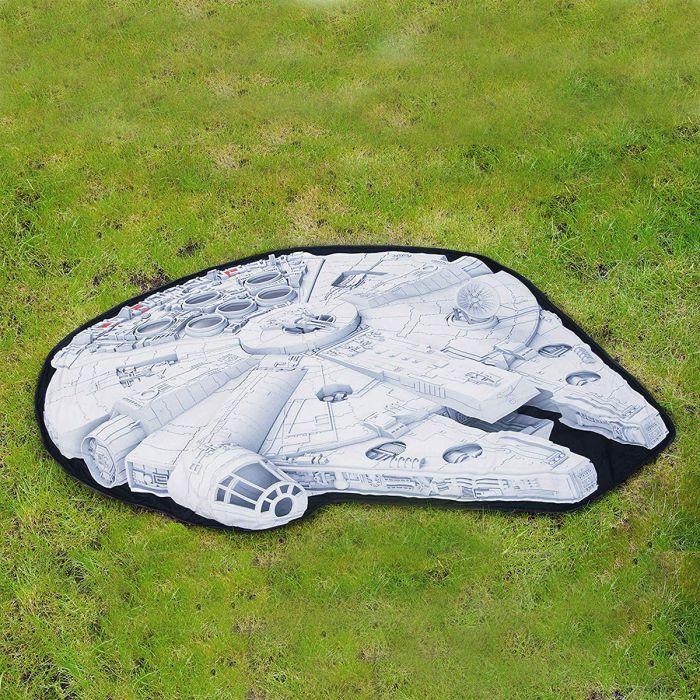 Couverture de pique-nique Faucon Millenium Star Wars