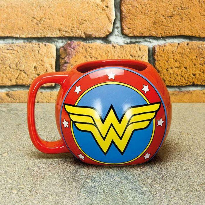 Tasse Bouclier Wonder Woman