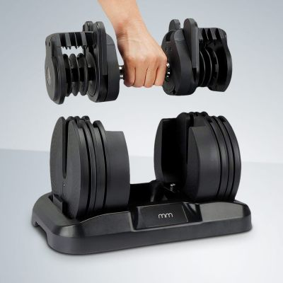 Set haltère avec poids ajustable