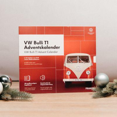 Calendrier de l'Avent modèle réduit VW Bulli T1