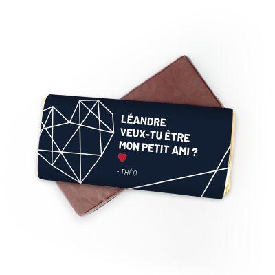 Chocolat Personnalisable avec Texte