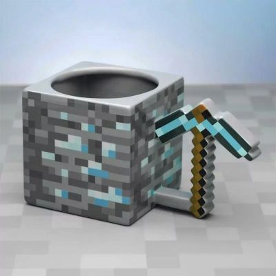 Tasse cubique Minecraft