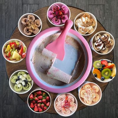Rolling Ice Cream – Machine à glace en rouleaux