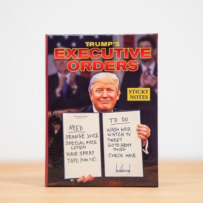 Bloc-notes Ordres du Président