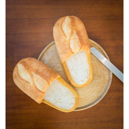 Chaussons en forme de pain