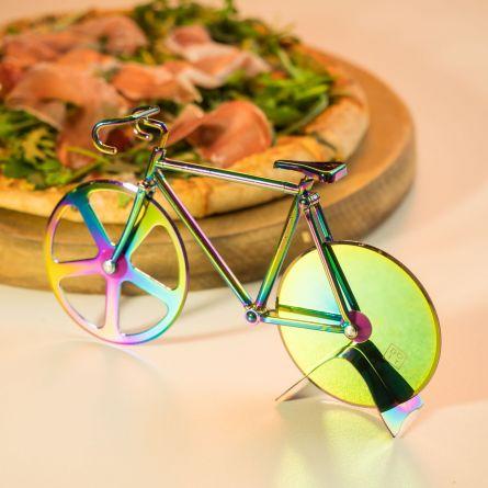 Roulette à pizza vélo