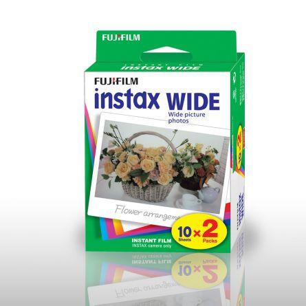 Papier Photo Fuji Instax WIDE - Set de 2