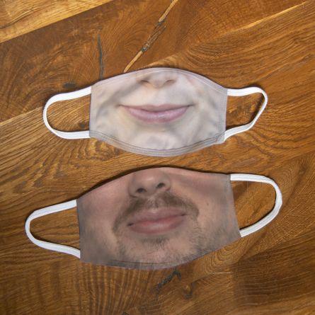 Votre Masque Personnel avec Photo (Moyen)
