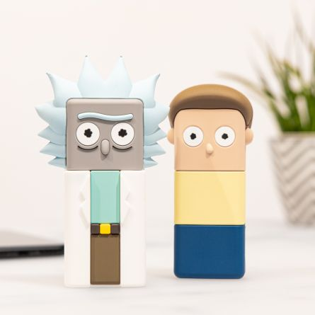 Batterie Externe Rick et Morty