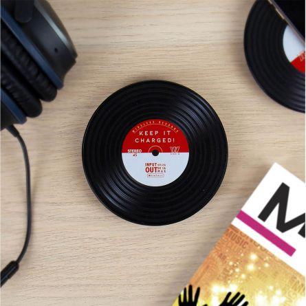 Chargeur à induction design vinyle