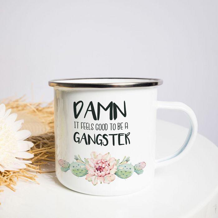 Tasse Métal Gangster