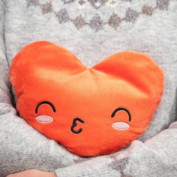Coussin Chauffant en forme de Coeur